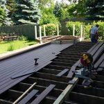 North Wheaton Trex Deck